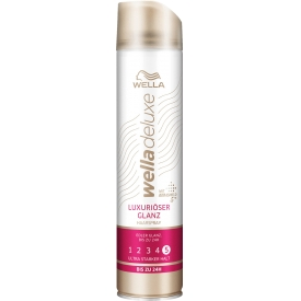 Wella Deluxe  Haarspray Luxuriöser Glanz ultra stark