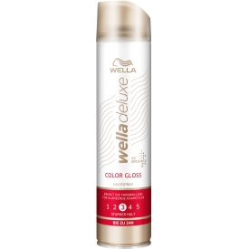 Wella Deluxe  Haarspray Color Gloss stark
