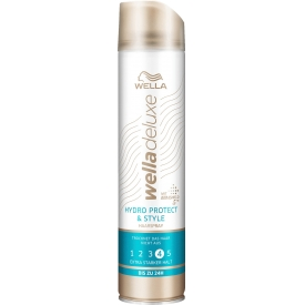 Wella Deluxe  Haarspray Hydro Protect & Style extra stark