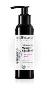 Alteya Bio erfrischendes Massage- & Body-Öl – Rose