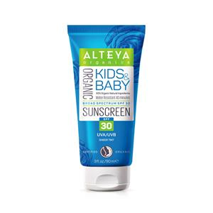 Alteya Bio Sonnencreme Kids & Baby, LSF 30