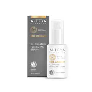 Alteya Bio Illuminating Perfecting Serum – Rose, Jasmin