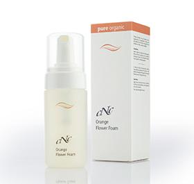 CNC Skincare pure organic Orange Flower Foam