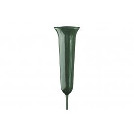Geli Grabvase Tulpe 37cm grün