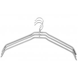 Kesper Hemdenbügel Metall grau 3Stück