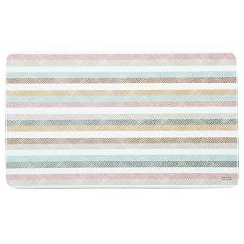 Kesper Brettchen Melamin Streifen 23,5x14,5x0,4cm