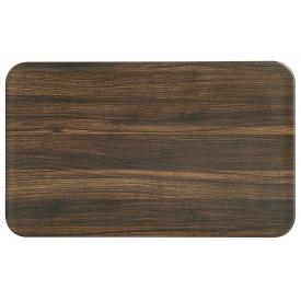 Kesper Brettchen Darkwood 23,5x14,5x0,4cm