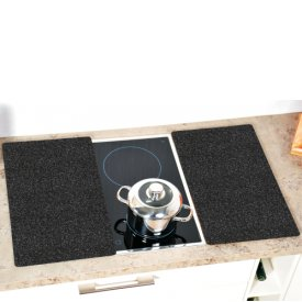 Kesper Schneid-/Abdeckplatte 52x30x0,8cm granit 2 Stück