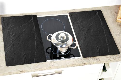 Kesper Schneid-/Abdeckplatte Schiefer 52x30x0,8cm 2 Stück