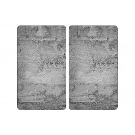 Kesper Multi-Glasschneideplatte Beton 52x30x0,8cm 2teilig
