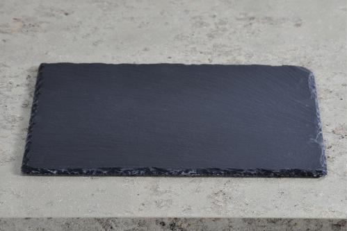 Kesper Servierplatte Schiefer 40x30cm