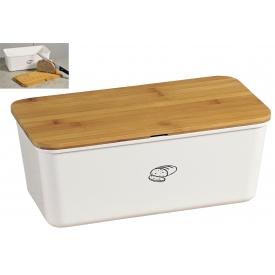 Kesper Brotbox 34x18x14cm weiß