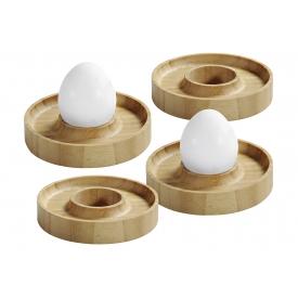 Kesper Eierbecher FSC-zertifiziertes Bambus 4er Set