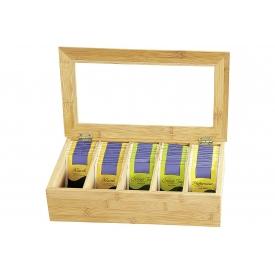 Kesper Tee-Box 36x20x9cm mit Sichtfenster