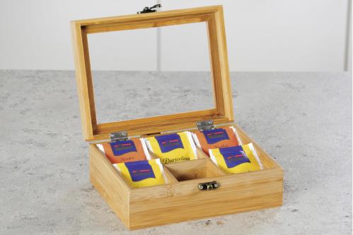 Kesper Tee-Box Bambus 21,7x16x9cm