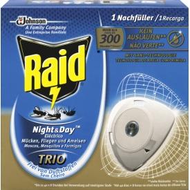 Raid Mückenstecker Night Day Nachfüller 40 Nächte