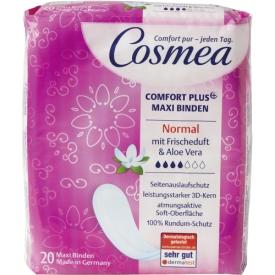 Cosmea Comfort Plus Maxi Binden Frischeduft & Aloe Vera