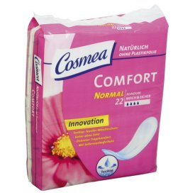 Cosmea Damenbinden Normal Comfort Plus mit Plastikfolie
