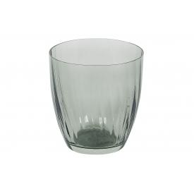 Bohemia Cristal Wasserglas Georgia 260ml rauchgrün
