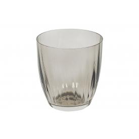 Bohemia Cristal Wasserglas Georgia 260ml rauchbraun