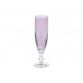 Bohemia Cristal Sektkelch Georgia 230ml rosa