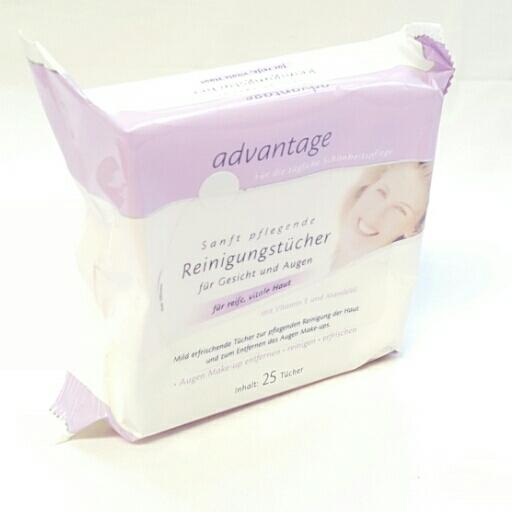 Advantage Reinigungstücher für Gesicht und Augen