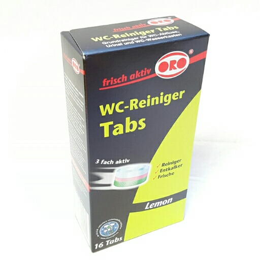 Oro Fresh WC Reiniger Tabs Lemon