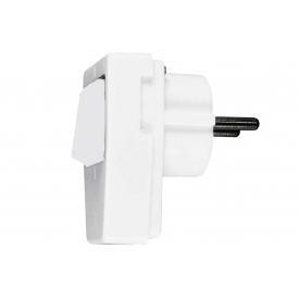 Blass Elektro Stecker schaltbar weiß