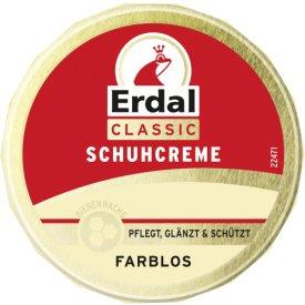 Erdal Schuhcreme Dose Farblos