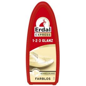 Erdal Schuh 1-2-3 Schnellglanz farblos