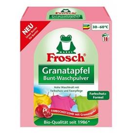 Frosch Buntwaschmittel Pulver Granatapfel