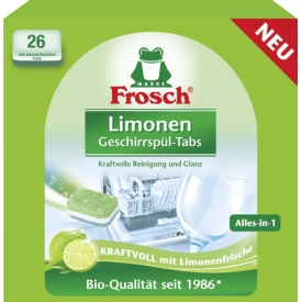 Frosch Spülmaschinentabs Limone