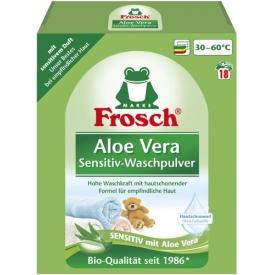 Frosch Sensitivwaschmittel Pulver Aloe Vera