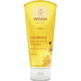 Weleda Waschlotion & Shampoo Baby Calendula