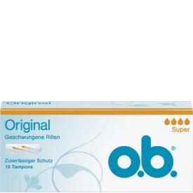 O.B. Tampons Original Super