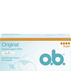 O.B. Tampon Original Super