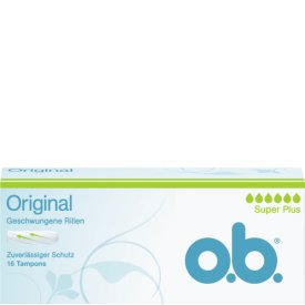 O.B. Tampons Original Super Plus