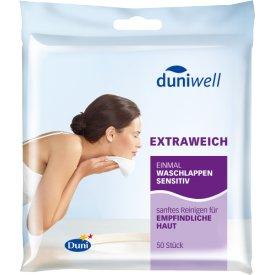 Duni Duniwell Einmal Waschlappen sensitiv