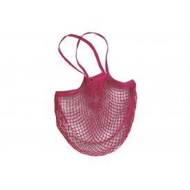 Fabrizio Einkaufsnetz 100% Baumwolle 32x38cm farbig sortiert