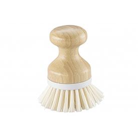 Haug Bürsten Knopfbürste Bamboo PET mit Bastkordel