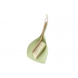Haug Bürsten Kehrgarnitur Bamboo rund PET mit Bastkordel
