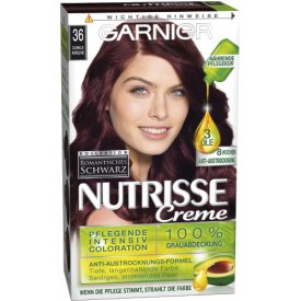 Garnier Dauerhafte Haarfabe Intensiv Coloration Nutrisse 036 Black cherry