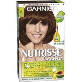 Garnier Dauerhafte Haarfabe Intensiv Coloration Nutrisse 45 Schokbraun