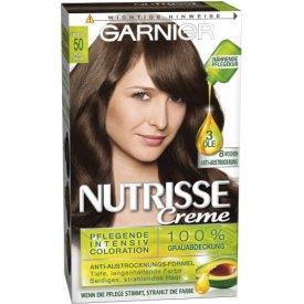 Garnier Dauerhafte Haarfabe Intensiv Cororation Nutrisse 50 Mocca