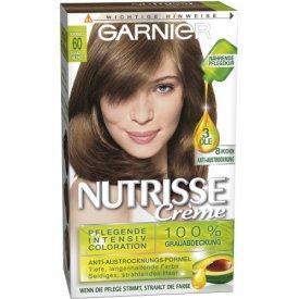 Garnier Dauerhafte Haarfabe Intensiv Coloration Nutrisse 60 Dunkelblond