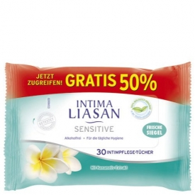 Sagrotan Intima Liasan Pflegetücher Sensitive