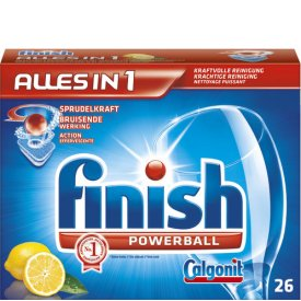 Finish Tabs Alles in 1 Lemon