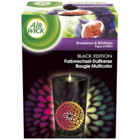Airwick Duftkerze Black Edition, 1 St