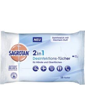 Sagrotan  Desinfektions-Tücher 2in1