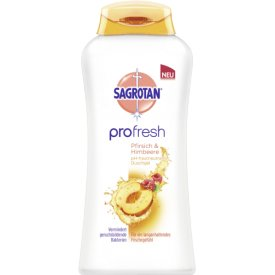 Sagrotan  Duschcreme Profresh Pfirsich &  Himbeere